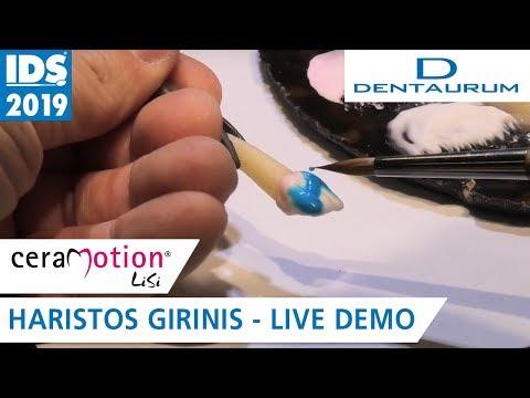 ceraMotion® LiSi auf der IDS 2019: Anpassung der Helligkeit