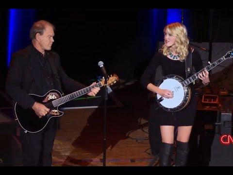 Glen & Ashley Campbell - I'll Be Me (2014) - Dueling Banjos