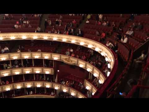 Vienna State Opera House - Before a Performance