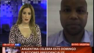 Argentina celebra este domingo elecciones presidenciales