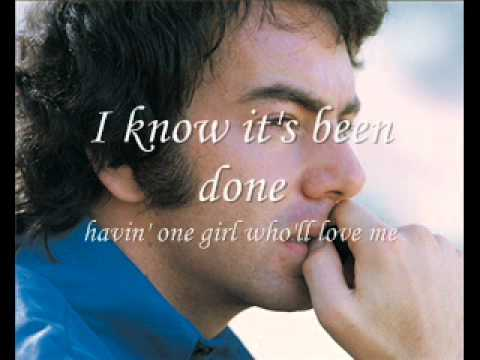 Neil Diamond - Solitary Man (W Lyrics)