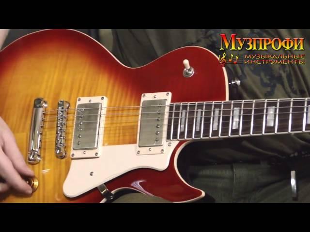 Игорь Кущев (Сектор Газа, Школа) Обзор гитары CORT CR250 в магазине-салоне Музпрофи
