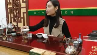 Чайная церемония в Санкт-Петербурге в исполнении красивой китаянки