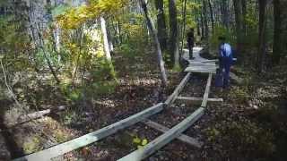 easton ma trail work