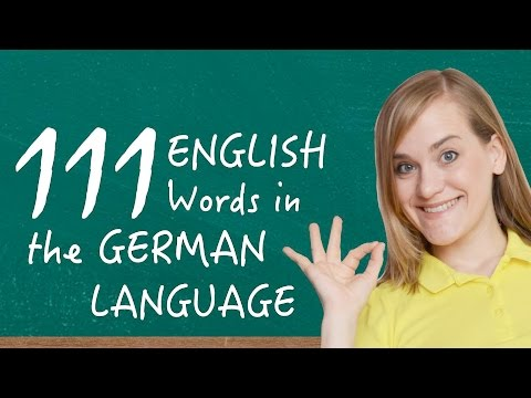 German Lesson (97) - 111 English Words in the German Language - A2