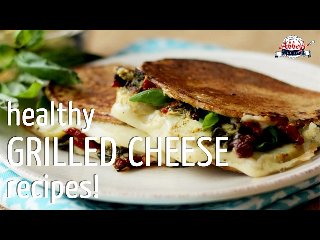 3 Healthy GRILLED CHEESE SANDWICH Recipes | Adult and Kid Approved with High Fiber LOW CARB Bread