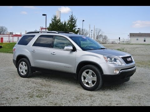 2007 gmc acadia slt 2 awd suv for sale dealership dayton. Black Bedroom Furniture Sets. Home Design Ideas