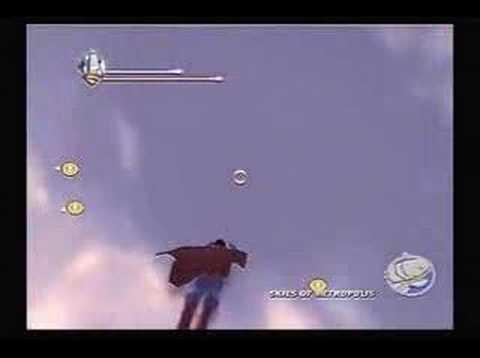 Superman Returns Videogame Metropolis Free Flying