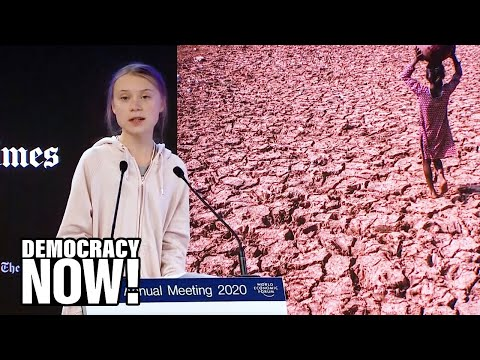 Image result for Greta Thunberg Addresses Global Elite at Davos: Our House Is Still on Fire""