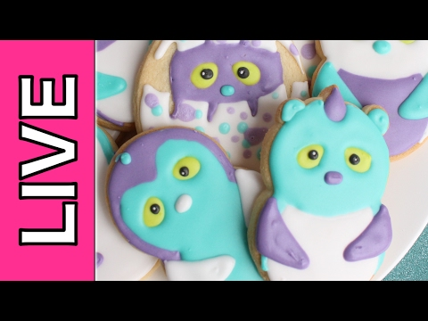 Easter Hatchimals - Recorded Live Stream Chat & Cookie Decorating with  Montreal Confections