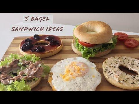 5 Bagel Sandwich Ideas