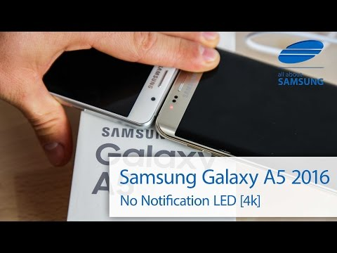 Samsung Galaxy A5 6 2016 Notification LED english 4k