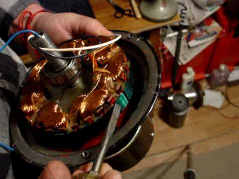 The Insides Of A Ceiling Fan Motor Explained Youtube