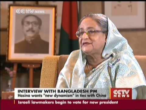 """Bangladeshi PM Hasina wants """"new dynamism"""" in ties with China"""
