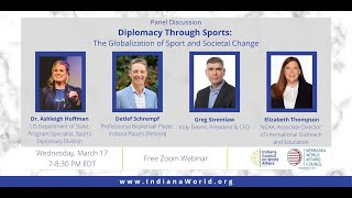 Diplomacy Through Sports: The Globalization of Sport and Societal Change