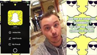 Las Vegas Snapchat vlog (Caesars Palace Room Tour, The Strip View)