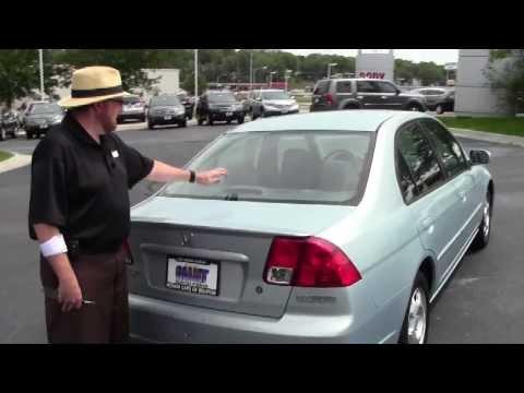 Used 2005 Honda Civic Hybrid for sale at Honda Cars of Bellevue...an Omaha Honda Dealer!