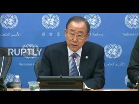 UN: Ban Ki-moon pushes for press freedom during final briefing