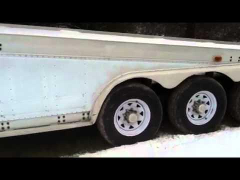 1992 Featherlite 3 Car Trailer Youtube