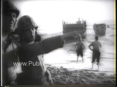 Middle East Crisis 1958 - Lull in the Storm Follows Troop Move - Soviet Union upset over U.S. move
