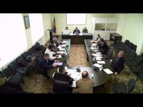 Քասախ համայնքի ավագանու 15.01.2019թվականի 1-ին նիս