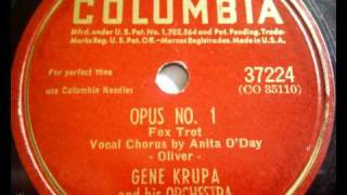 Gene Krupa and his Orchestra - Opus No. 1