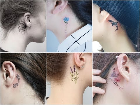 50+ Beautiful Small Tattoo Design Behind The Ear