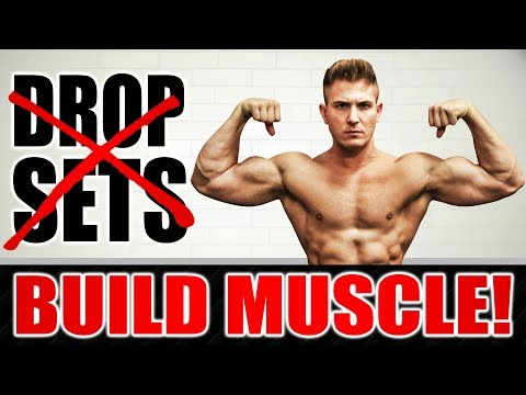 1 Reason Why Drop Sets DON'T WORK For Muscle Growth Gains! | STOP NOW!