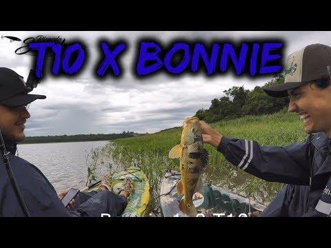 DESAFIO Melhor Isca De Superfície: BONNIE X T10