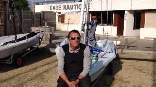Les débuts à la voile du skipper Jérémie Beyou à Carantec