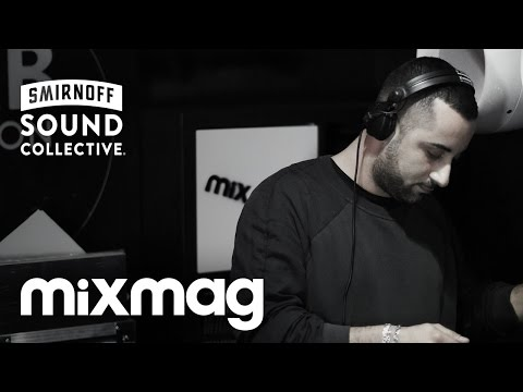 JOSEPH CAPRIATI vinyl techno set in The Lab LDN