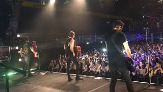 All Time Low - Good Times - Frankfurt - 14/10/17 (Side Stage)