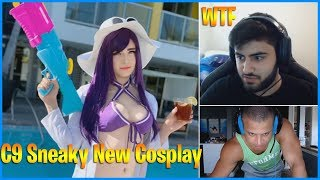 yassuo Reacts to New Sneaky Cosplay | Tyler1 Minecraft Quality Stream | LoL Daily Moments Ep 588