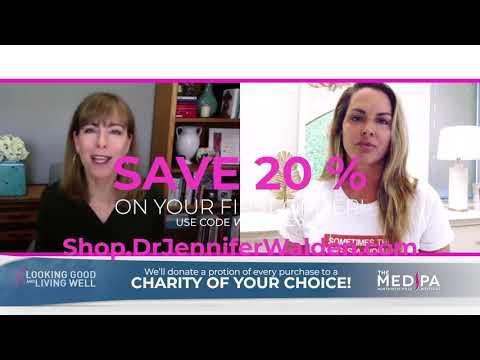 Dr. Jennifer Walden Skincare & Supplement Line on KVUE