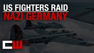 US Fighters Raid Nazi Germany