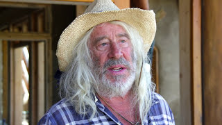 136. Earthship living in a cold, desolate, Canadian winter