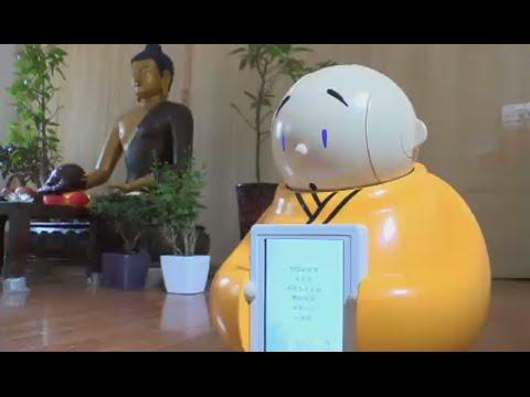Meet Xian'er: Robot monk spreads Buddhist wisdom in China