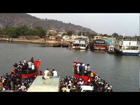 Crossing The Ferry From Lungi To Freetown