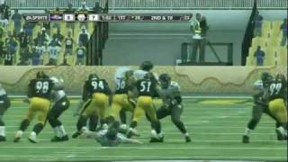 Madden NFL 12 GAMEPLAY - Ravens @ Steelers (Part 1 of 2) [HD]