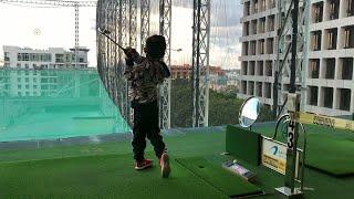 코로나 이후 1년만에 아로마 골프 레인지에 왔어요! A…