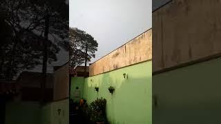 Chuva em Foz do Iguaçu (PR)