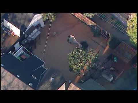 Flooding in San Mateo neighborhood after water main break