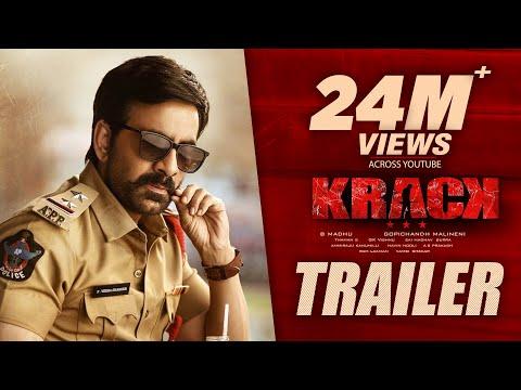 Krack Movie Trailer - Raviteja, Shruti Hassan   Gopichand Malineni   Thaman S