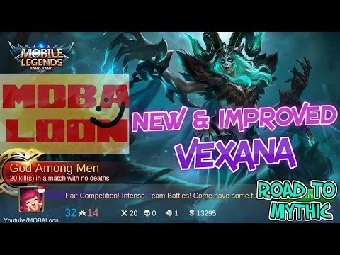 Global Vexana Rank to MYTHIC | Original Server | Help Test LOOTS please | MOBILE LEGENDS