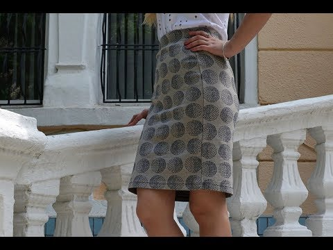 ЮБКА-КАРАНДАШ - интернет-магазин - 2018 / Pencil skirt - online .