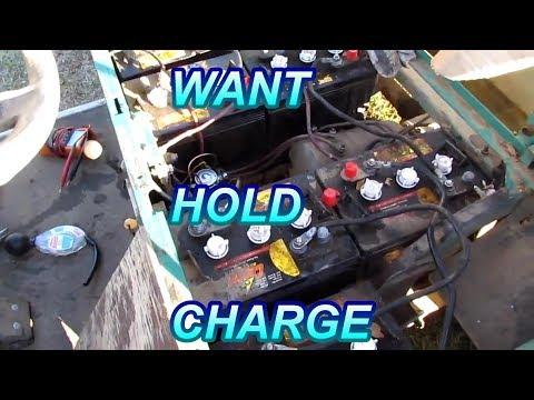 Golf Cart Batteries Good Die Quickly