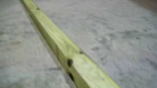 "3"" X 3"" Wooden Fence Post - Video Presentation"