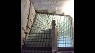 Šalování a betonování schodiště