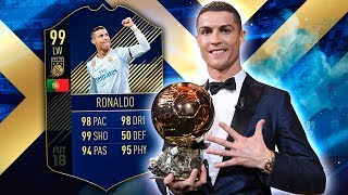 Video TOTY RONALDO 99! THE HIGHEST RATED CARD IN THE GAME! FIFA 18 ULTIMATE TEAM download MP3, 3GP, MP4, WEBM, AVI, FLV Januari 2018