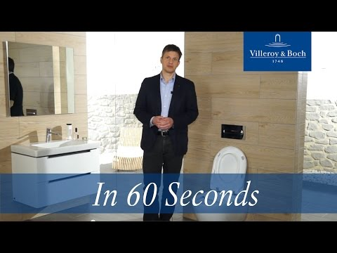 In 60 Seconds: DirectFlush – Rimless Toilet | Villeroy & Boch